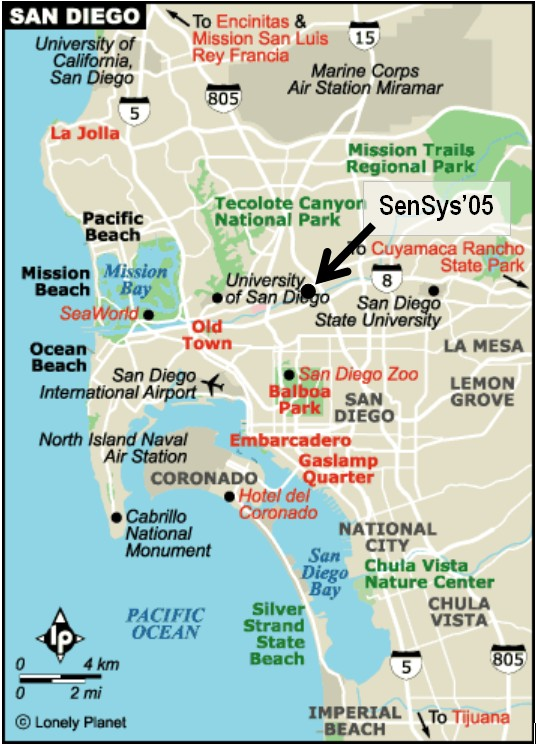 Fashion Valley San Diego Map.Hotel And Travel Sensys 2005